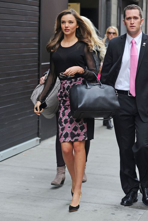 Miranda Kerr na ulicach Nowego Jorku