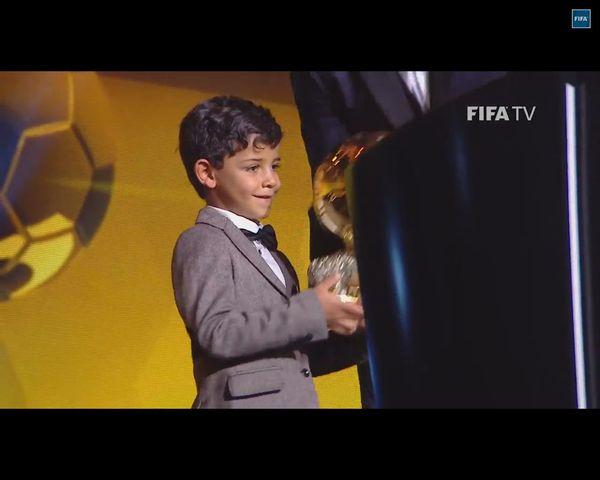 Cristianito Ronaldo, syn Cristiano Ronaldo