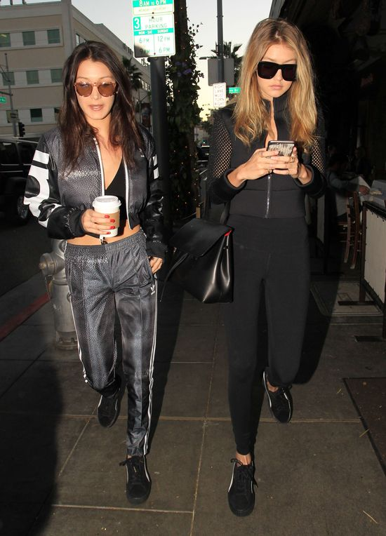 Siostry Bella i Gigi Hadid