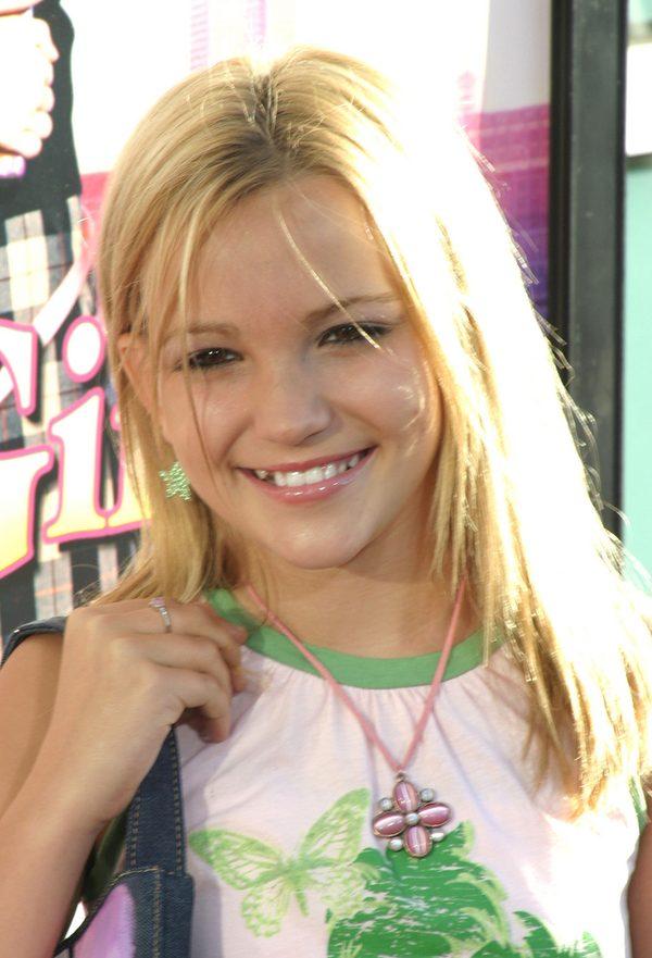 Jamie Lynn Spears w 2003 roku. Już jako dziewczynka pojawiała się na premierach filmów.