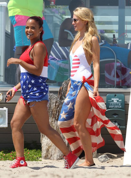 Christina Milian, Paris Hilton
