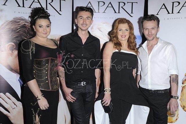 Marta Grycan i Wiktoria Grycan na pokazie mody