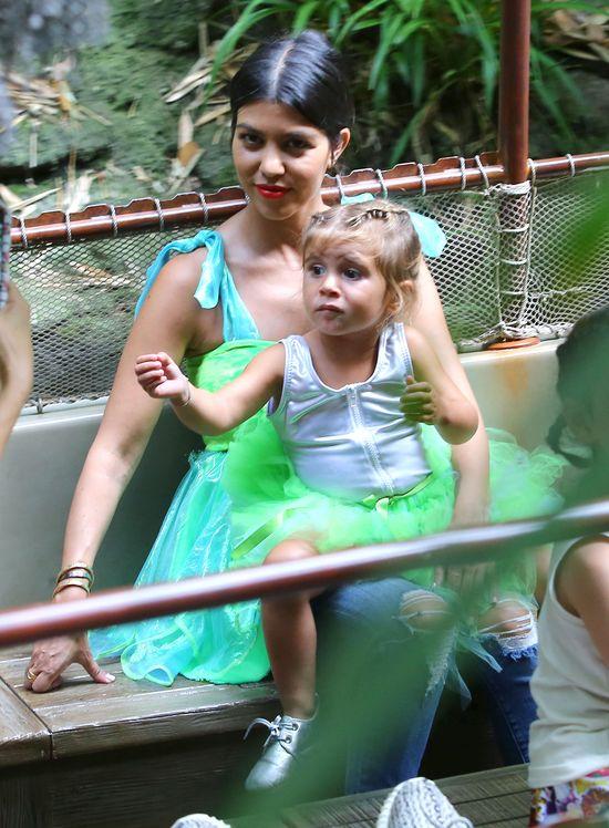 Penelope Disick, córka Kourtney Kardashian świętuje swoje 3 urodziny, lipiec 2015