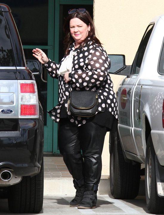 Melissa McCarthy - puszysta gwiazda jako nastolatka miała sporo kompleksów.