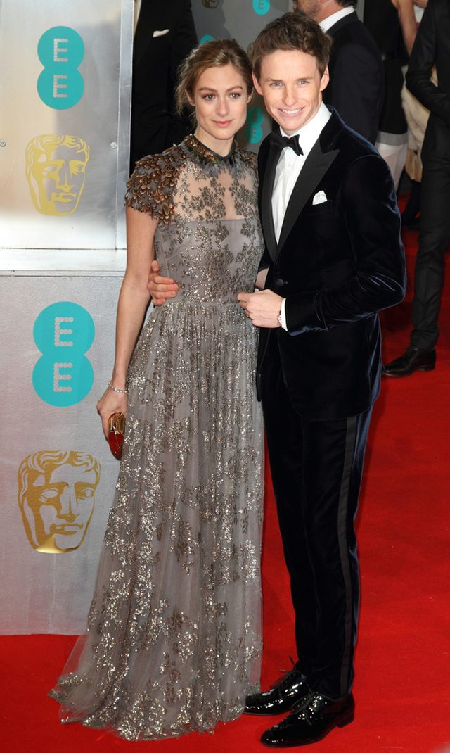 Eddie Redmayne i Hannah Bagshawe