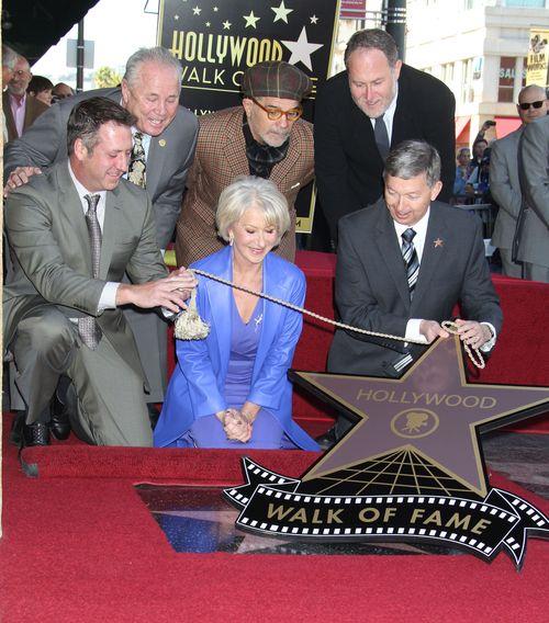 Helen Mirren uhonorowana własną gwiazdą w Alei Sław w Hollywood