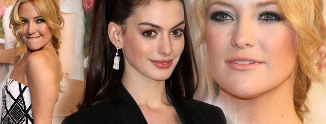 Anne Hathaway i Kate Hudson na premierze filmu
