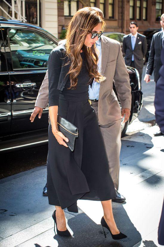 Vitoria Beckham na kilka godzin przed galą MET 2014