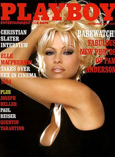 Pamela Anderson na okładkach Playboya