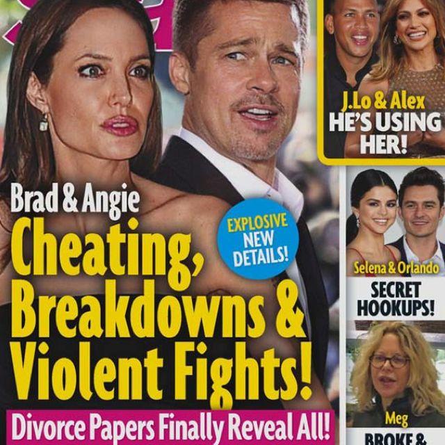 Magazyn Star chwali się wglądem w papiery rozwodowe Angeliny Jolie (41 l.) i Brada Pitta (53 l.). Z niewiarygodnego źródła dowiemy się, że aktorka była obsesyjnie zazdrosna o byłą żonę swojego męża.