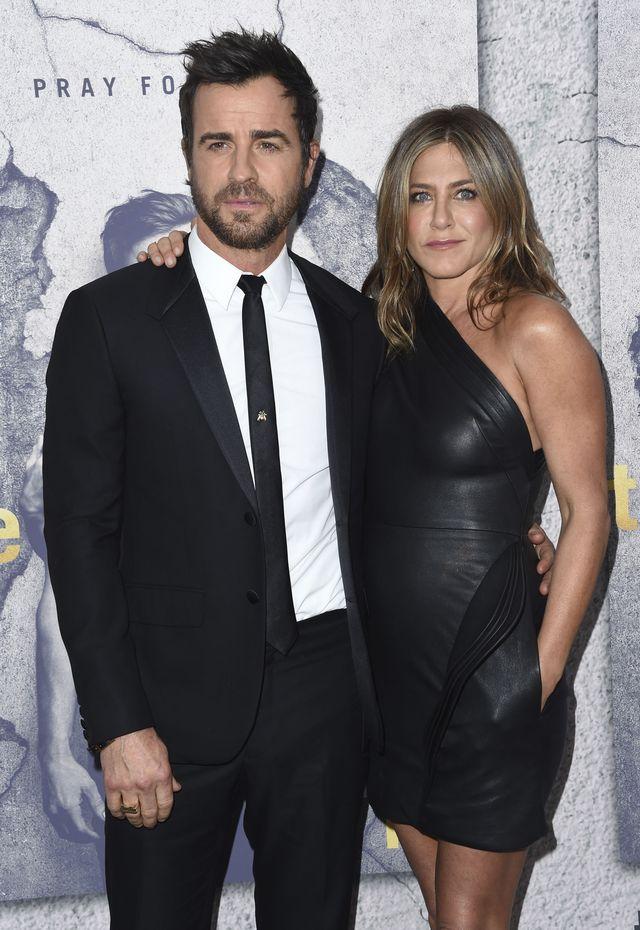 Justin Theroux został zapytany o kryzys w małżeństwie z Jennifer Aniston