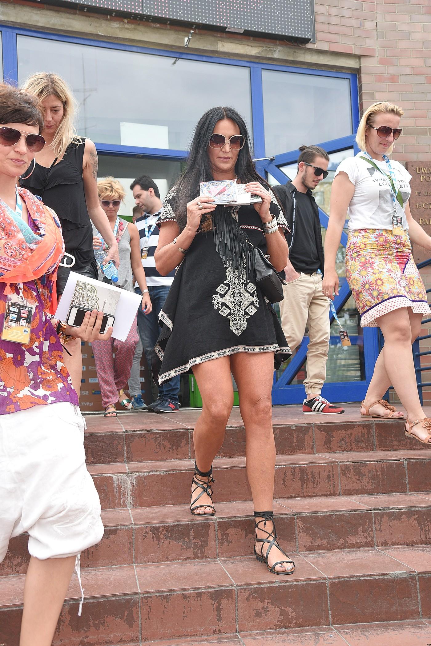 Najzgrabniejsze nogi na Festiwalu w Opolu 2015