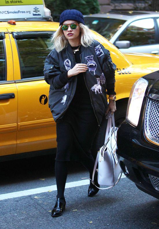 Rita Ora w Nowym Jorku