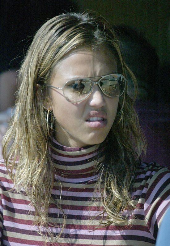 Jessica Alba na starszych zdjęciach