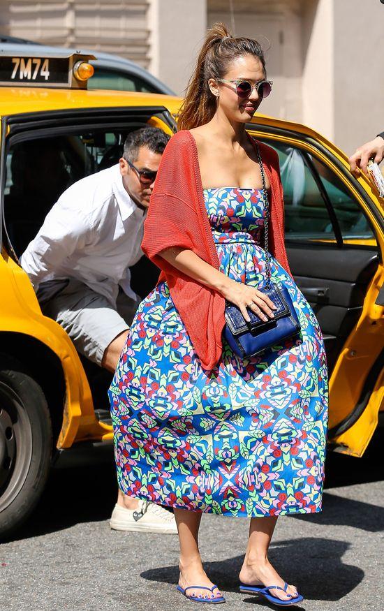 Jessica Alba i Cash Warren w Nowym Jorku