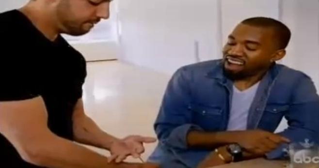Iluzjonista David Blaine wystraszył gwiazdy (w tym Kanye)