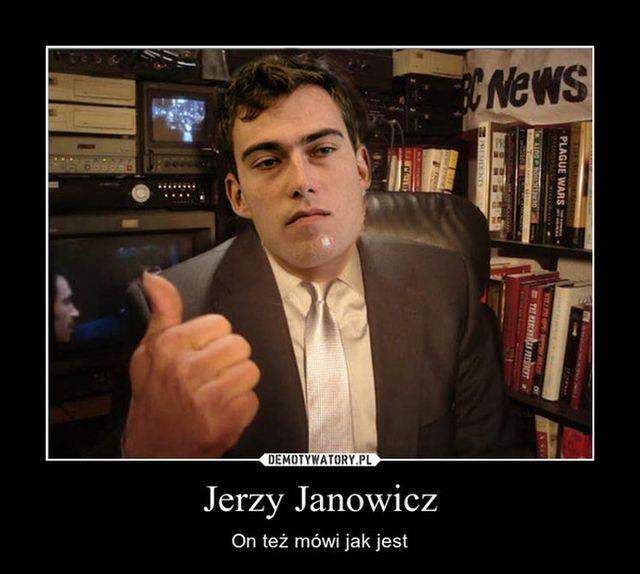 Jerzy Janowicz - memy