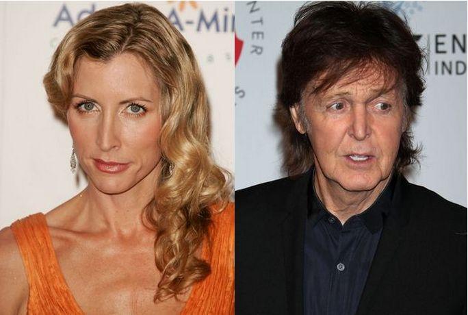 Hather Mills i Paul McCartney Heather Mills otrzymała aż 48 milionów dolarów podczas rozwodu z Paulem McCartneyem. Ciekawe, kiedy dorobiłaby się takiej sumki jako modelka.