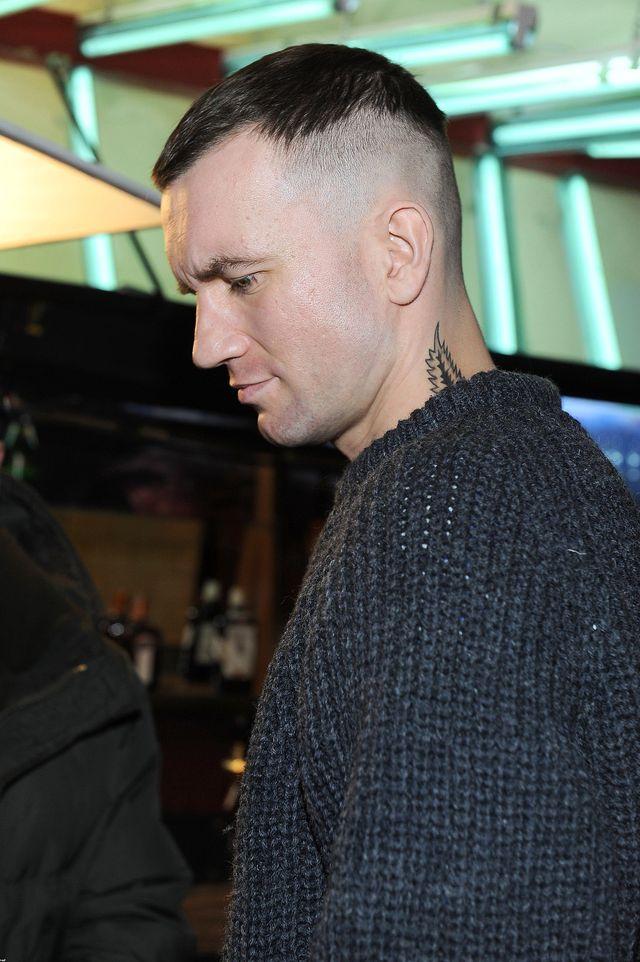 """Tomasz Kot na planie filmu """"Juma"""", 2011 rok."""