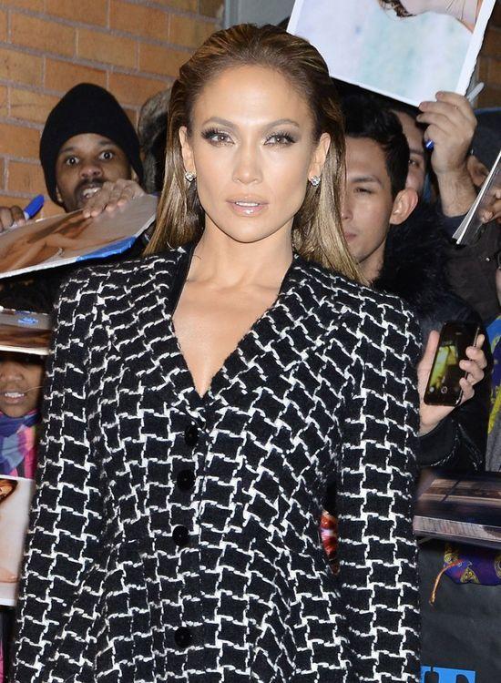 Jennifer Lopez przed studiem Jona Stewarta