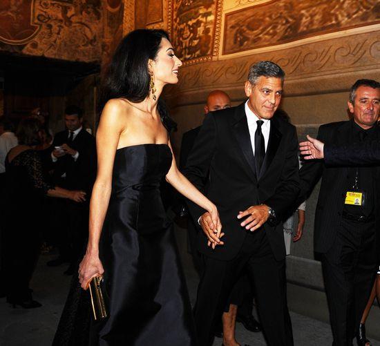 Amal Alamuddin, aktualna żona Georga Clooneya.