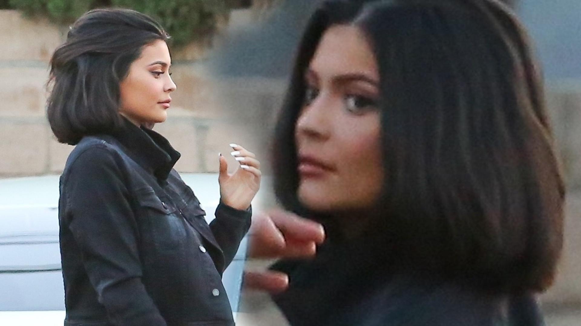 Nowe USTA i nowa FRYZURA Kylie Jenner
