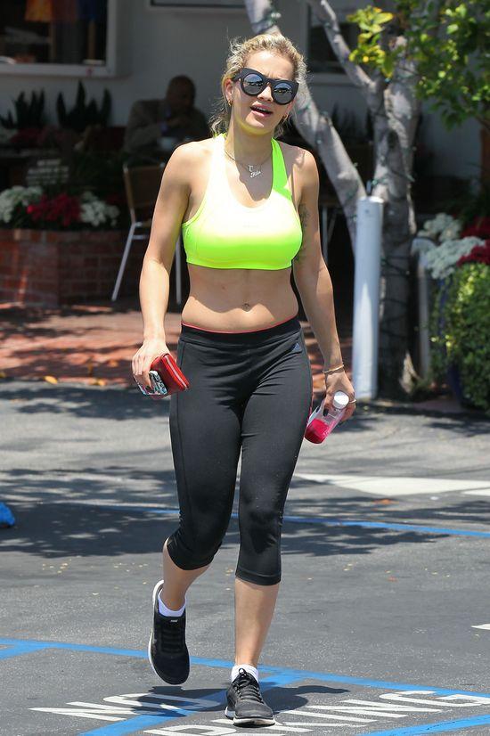 Rita Ora na sportowo