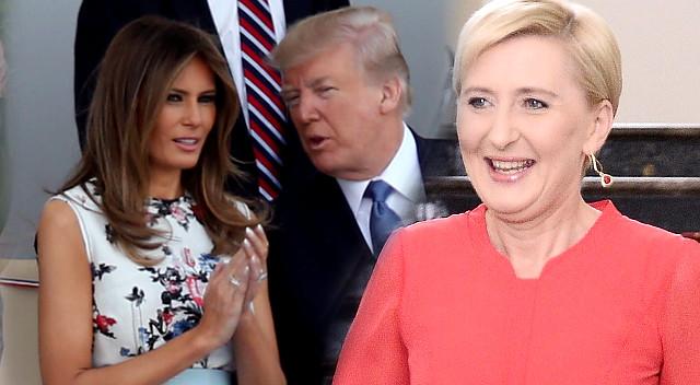 Agata Duda ZAIMPONOWAŁA tym Melanii Trump