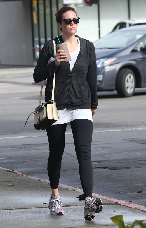 Mandy Moore zmęczona i spocona (FOTO)