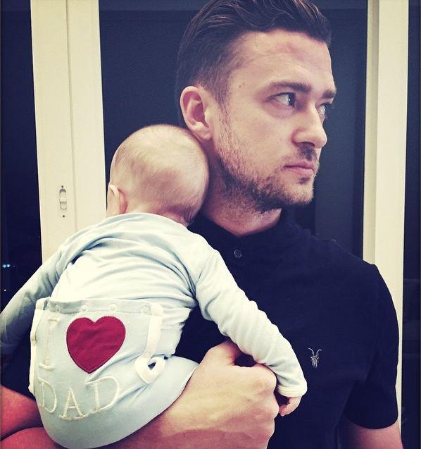 Justin Timberlake z synkiem