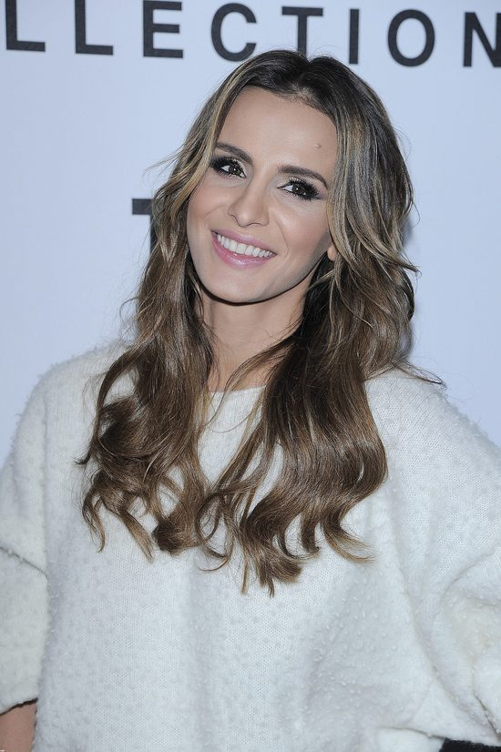 Gdy zaczęła się pojawiać na salonach, Sara Boruc nosiła przedłużane włosy.