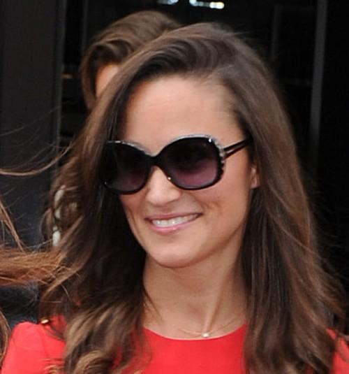 Pippa Middleton w czerwieni