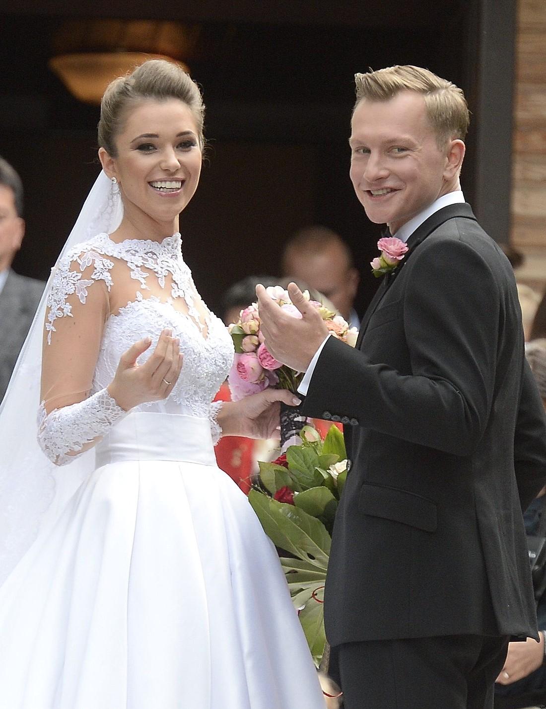 Ślub Agnieszki Szczurek i Kuby Wesołowskiego