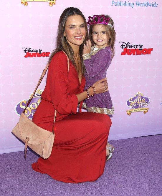 Alessandra Ambrosio z córką Anją