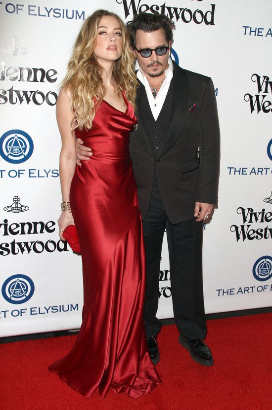 Amber Heard, Johhny Depp, The Art of Elysium 2016