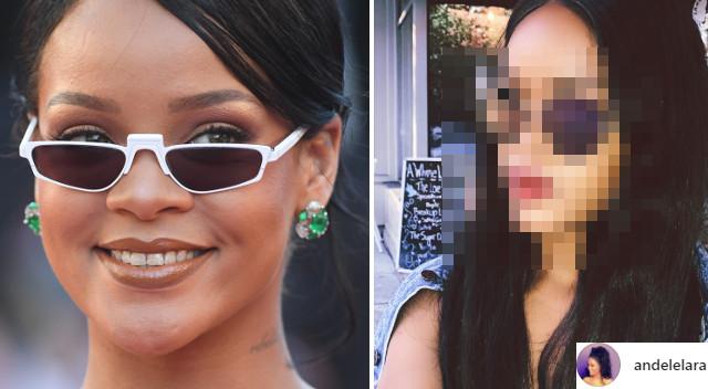 Fani myśleli, że to Rihanna! Dali się nabrać