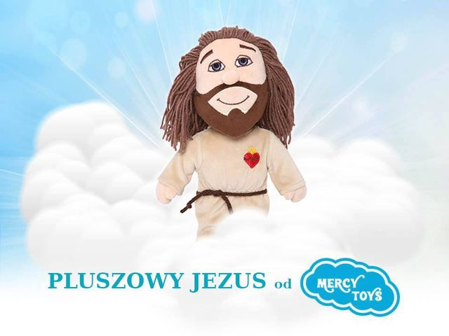 Pluszowy Jezus za 100 zł wywoła w sieci BURZĘ