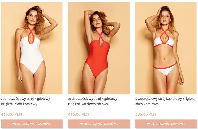Fanki Ewy Chodakowskiej ROZCZAROWANE wysokimi cenami jej kostiumów kąpielowych