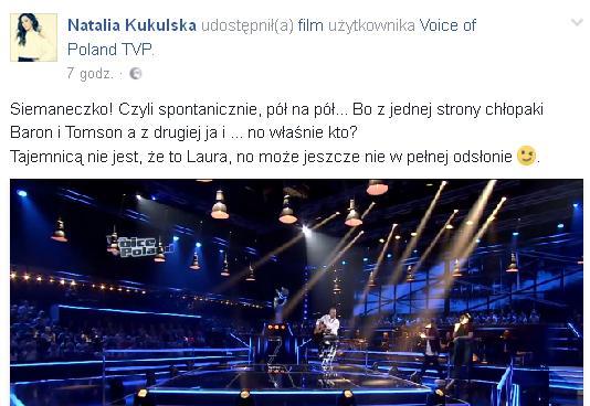 Natalia Kukulska zdradziła płeć i imię dziecka (Facebook)
