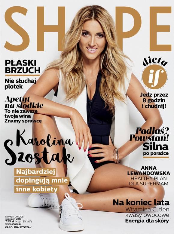 Karolina Szostak gwiazdą SHAPE: Od 4 lat moim głównym pożywienie jest...