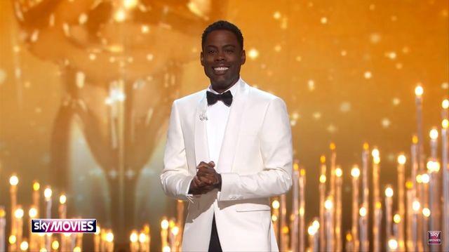 Oscary 2016: monotematyczne �arty prowadz�cego