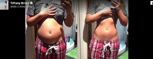 Ta blogerka nie jest w ciąży – co się stało z jej brzuchem? (Facebook)
