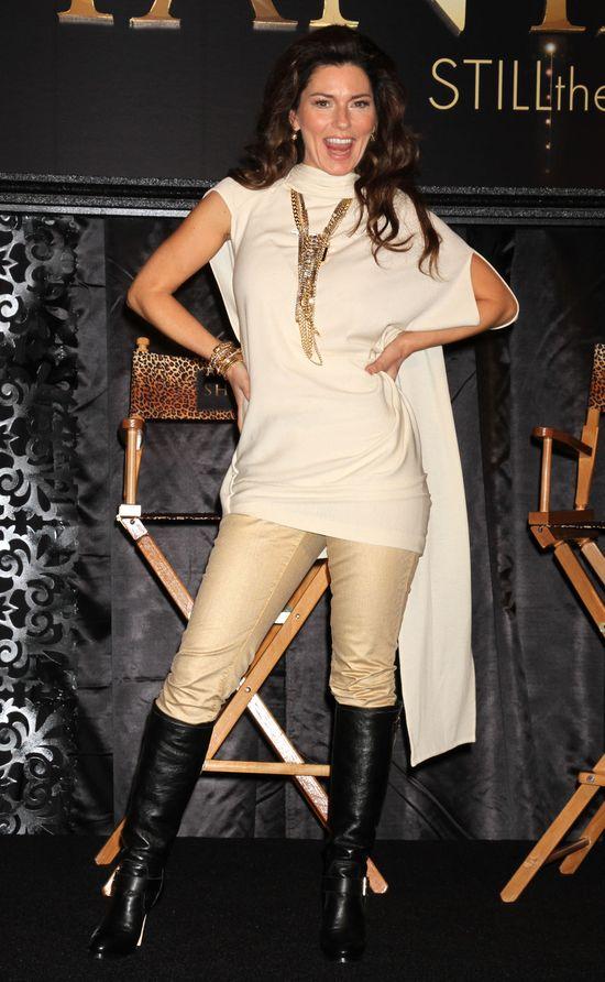 Shania Twain wr�ci�a na scen� po 10 latach