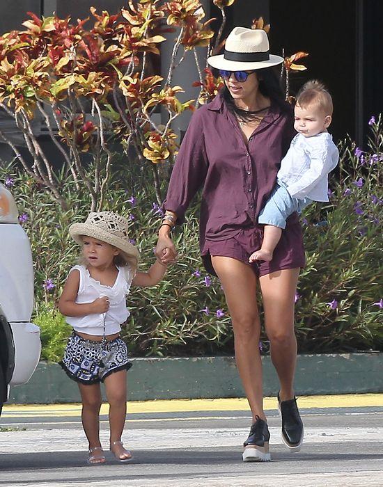 Kourtney Kardashian z dziećmi, 2015 rok