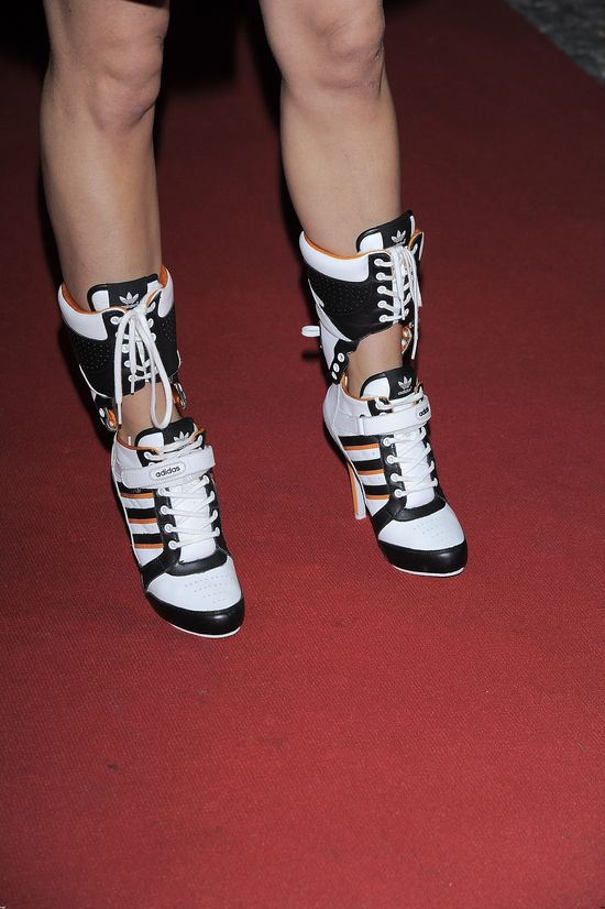 Natasza Urbańska, futurystyczne buty