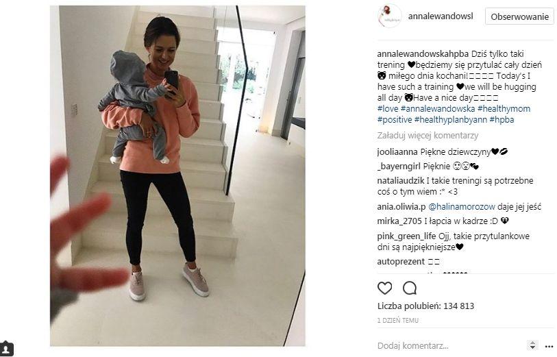 Awantura na Instagramie Lewandowskiej – poszło o Klarę