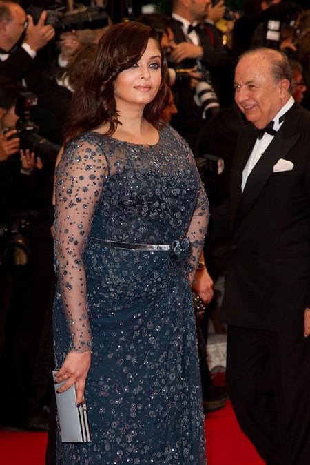 Aishwarya Rai w Cannes - 2012 r.