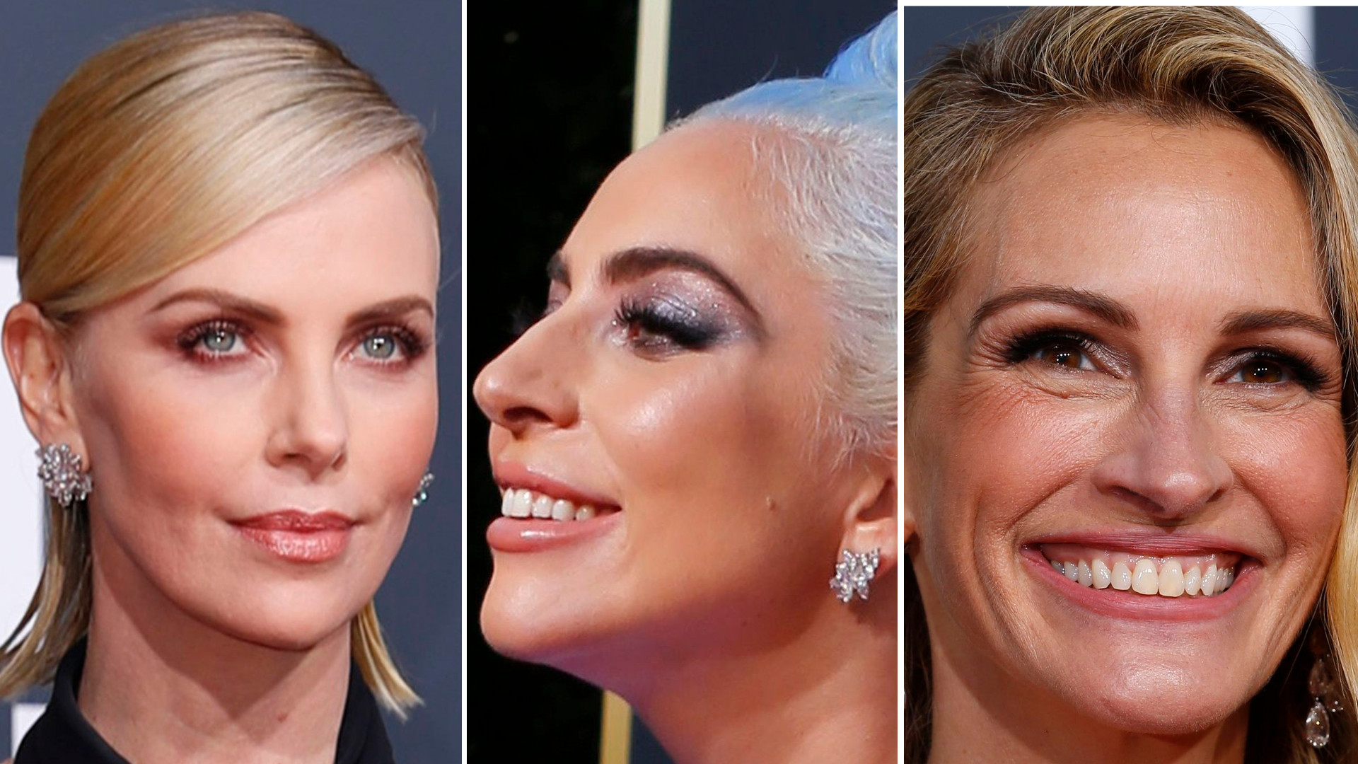 Makijaże gwiazd na gali Złotych Globów 2019