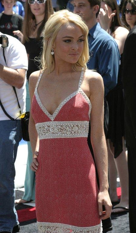 Stare zdjęcia Lindsay Lohan