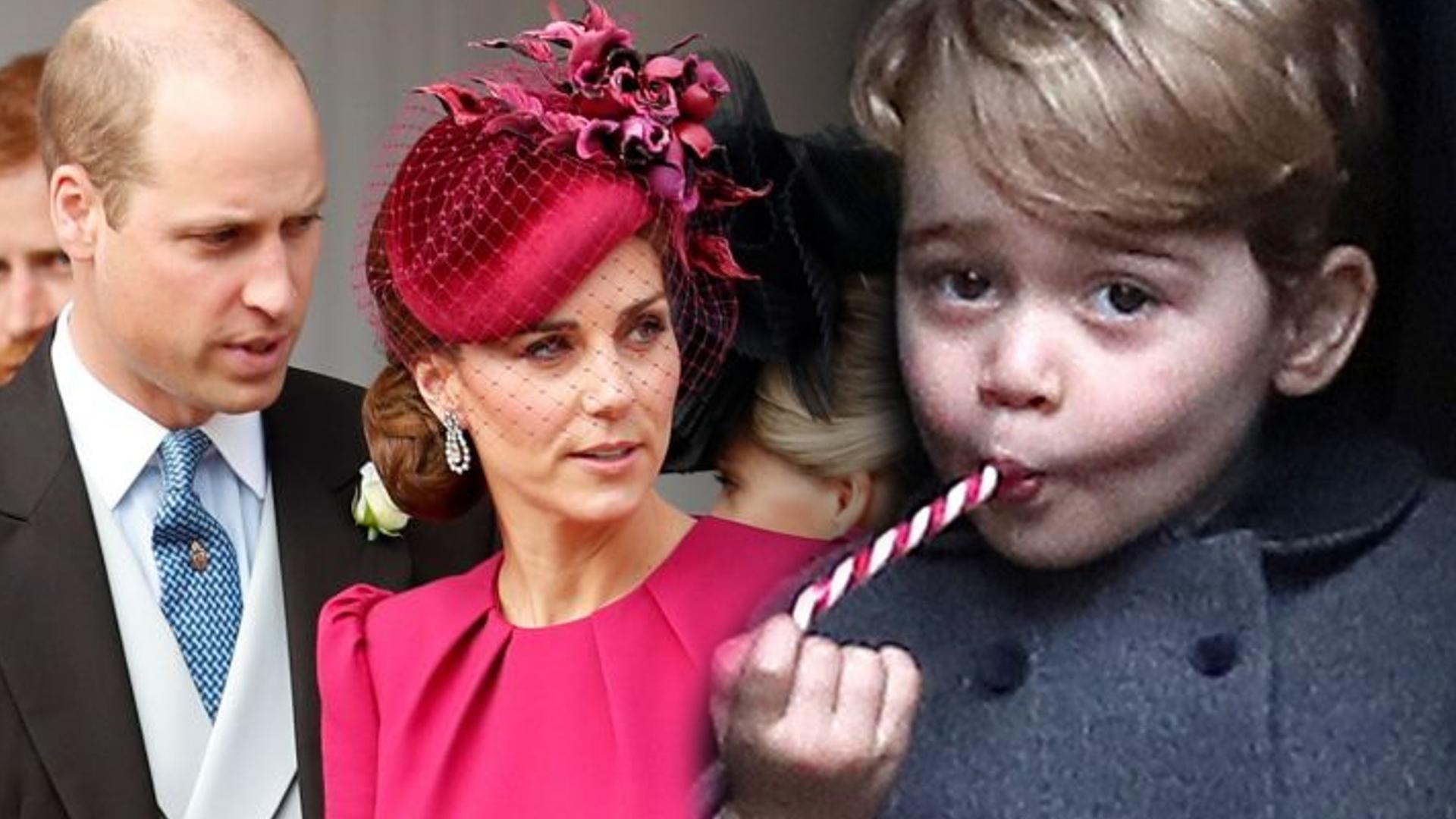 Książę George odziedziczył po Williamie okropny nawyk! To samo robiła księżna Diana